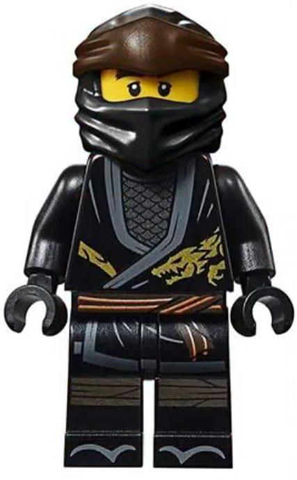 lego® ninjago™  cole legacy with katanma sword  from