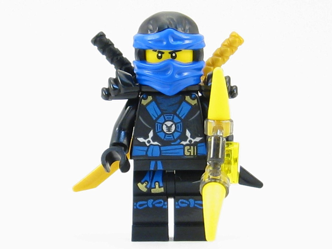 lego® ninjago™ jay deepstone minifigure 2015 with