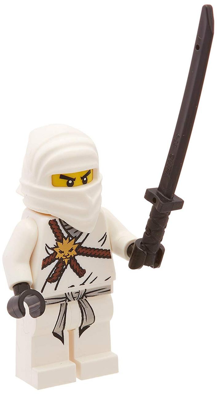 NEW LEGO Ninjago Accessories White Zane Minifigure