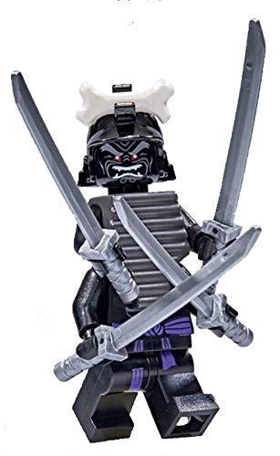 NEW minifigure GARMADON LEGO NINJAGO LEGACY 4 KATANAS