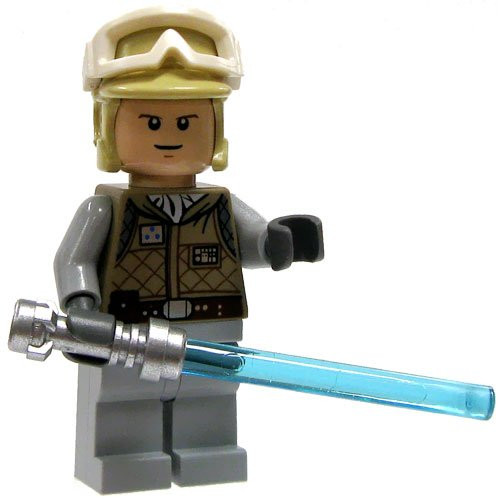 Lego Star Wars Luke Skywalker Hoth The Brick People
