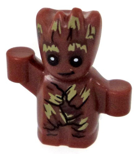 LEGO® Superheroes - Baby Groot minifigure (very SMALL)