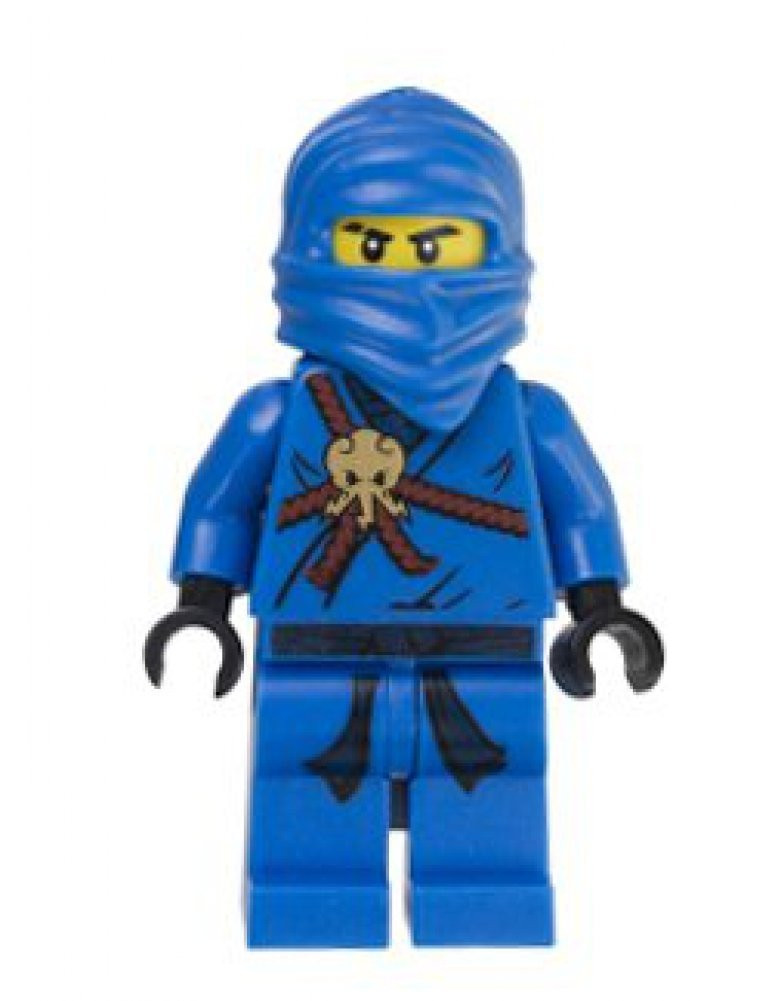 lego® ninjago™ jay blue ninja original minifigure  the