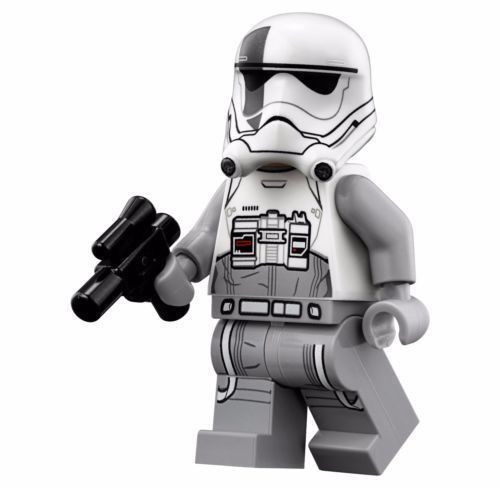 NEW LEGO FIRST ORDER WALKER DRIVER MINIFIG star wars stormtrooper 75189 75195