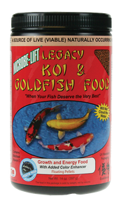 Microbe-Lift Legacy Koi and Goldfish Food - High Growth & Energy 12 oz.