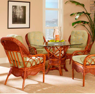 East Wind Wicker Dining Set