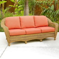 Wicker Charleston Sofa