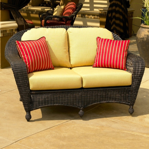 Charleston Love Seat - Espresso