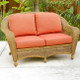 Charleston Love Seat - Walnut