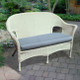 Darby Love Seat - White