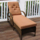 Darby Chaise Lounge - Cappuccino