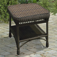 Mackinac Wicker End Table