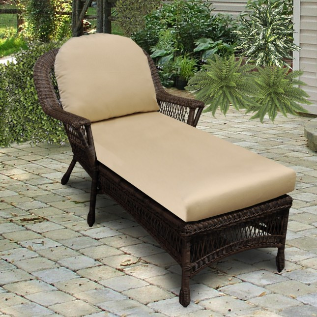 Chaise Lounge Cushion Country View Wicker