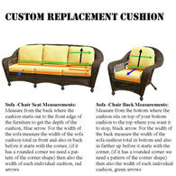Custom Replacement Cushions