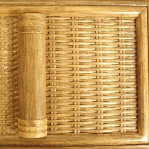 Clove Finish - Classic Rattan finish