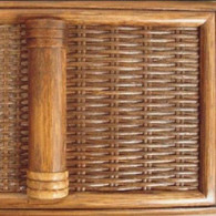 Pecan Finish - Classic Rattan finish