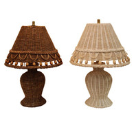Small Beaded Lamp