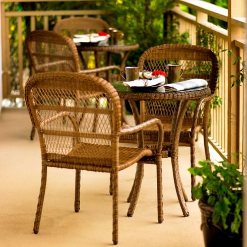 Avalon Dining Wicker Furniture Set
