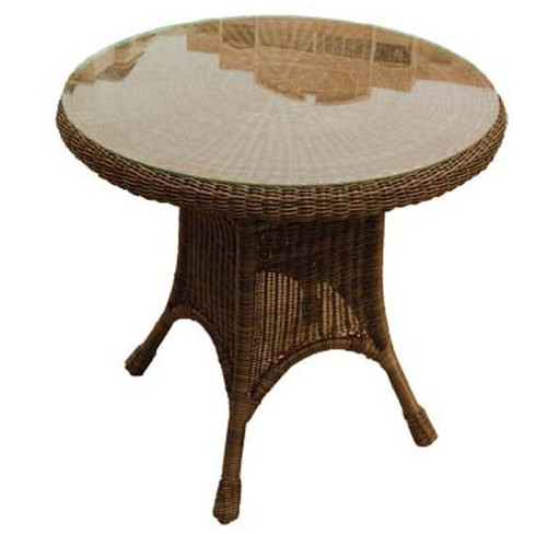 "30"" Round Resin Dining Table"