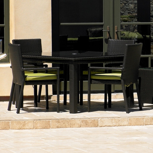 Cabo Wicker Dining Set