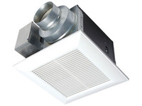 WhisperCeiling fan, 380 CFM, 3.0 sone