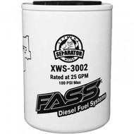 FASS XWS-3002 EXTREME WATER SEPARATOR FOR FASS TITANIUM / SIGNATURE SERIES PUMPS