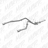 ALUMINIZED DPF BACK DUAL EXHAUST FOR 14-15 DODGE 3.0L ECODIESEL