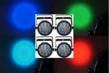 CHAUVET SLIMPAR38 LED 4 Pack Lights $20 Instant Coupon use Promo Code: $20-OFF