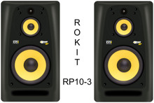 KRK rokit rp10-3 active studio monitor pair $50 Instant Coupon use Promo Code: rp10-3