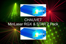 Chauvet min Laser rgx star 2 Pack $20 Instant Coupon use Promo Code: $20-OFF