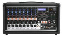 PEAVEY PVI 8500 iPOD Input Dock FX Powered Audio Mixer