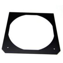 "TIMES SQUARE 7.5"" x 7.5"" Black Square Steel Gel Frames"