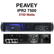 PEAVEY IPR2 7500 Lightweight Quality Rackmount Amplifier $50 Instant Coupon Use Promo Code: $50-OFF