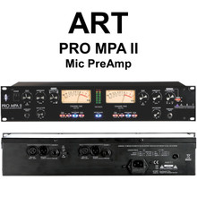 ART PRO MPA-II 2 Channel Rackmount Mic Preamp $5 Instant Coupon Use Promo Code: $5-OFF