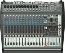 BEHRINGER PMP6000 20 Channel 1600w Audio Mixer