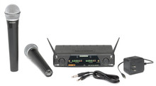 SAMSON CONCERT 277 Dual Handheld Wireless Mic System $10 Instant Coupon Use Promo Code: $10-OFF