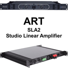 ART SLA2 560w Bridged Linear Studio Amplifier 110v or 220v