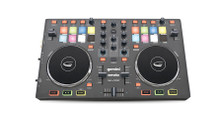 GEMINI SLATE Dual Player Mixer Midi Controller $5 Instant Coupon use Promo Code: $5-OFF