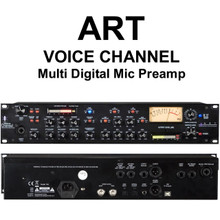 ART VOICE CHANNEL Multi Digital Rackmount Mic Preamp