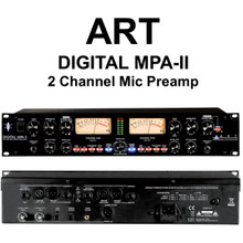 ART DIGITAL MPA-II 2 Channel Rackmount Mic Preamp