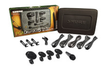 SHURE PGADRUMKIT5 Includes Case & XLR Cables $15 Instant Coupon Use Promo Code: $15-OFF
