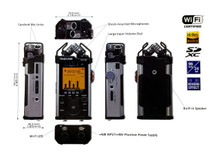 TASCAM DR-44WL Portable SD Digital Recorder