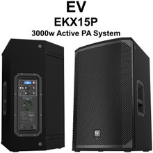 EV EKX15P 3000 Watt PA Speaker Pair $25 Instant Coupon Use Promo Code: $25-OFF
