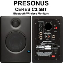 PRESONUS CERES C3.5BT Active Studio Reference Monitor Pair $10 Instant Coupon use Promo Code: $10-OFF