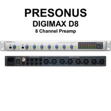PRESONUS DIGIMAX D8 8 Channel Xmax Preamp