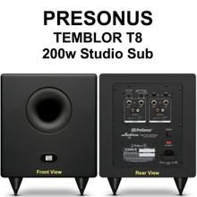 Presonus Temblor t8 200w active studio sub $10 Instant Coupon use Promo Code: $10-OFF