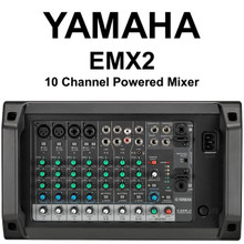 YAMAHA EMX2 10 Channel 500w Powered Audio Mixer with Feedback Suppressor $5 Instant Coupon use Promo Code: $5-OFF