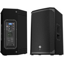 EV EKX12P 3000 Watt Total Active PA Speaker System Pair with DSP & LCD Screen