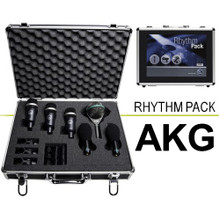 AKG RHYTHM PACK 6 Classic Drumkit Mics with Aluminum Carry Case