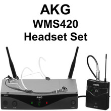 AKG WMS420 Headset Set Wireless Mic System